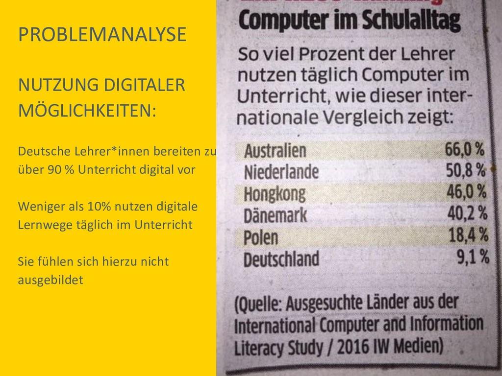 NUTZUNG DIGITALER MÖGLICHKEITEN: Deutsche Lehre...