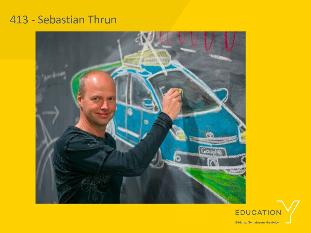413 - Sebastian Thrun