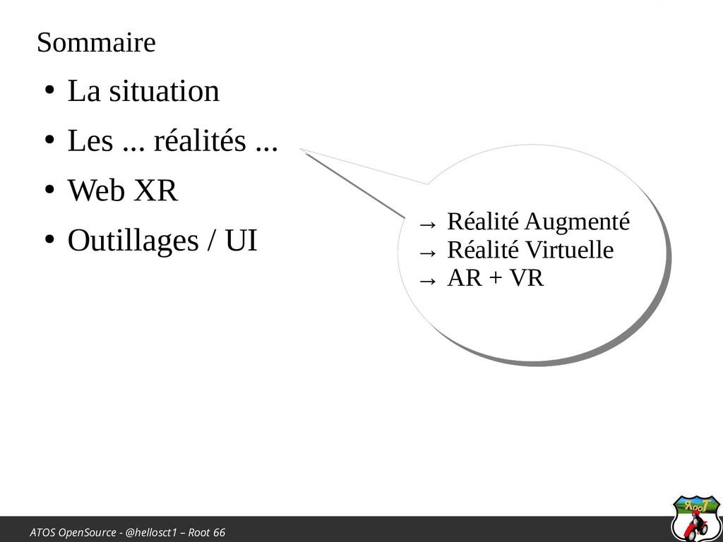 ATOS OpenSource - @hellosct1 – Root 66 Sommaire...