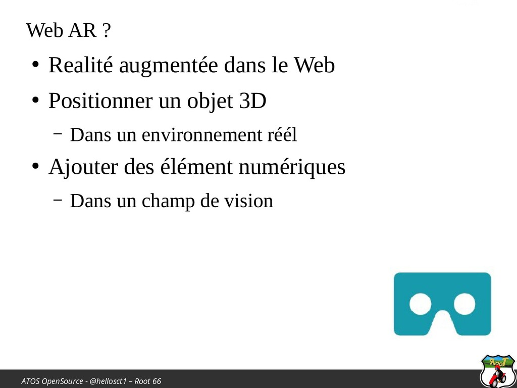 ATOS OpenSource - @hellosct1 – Root 66 Web AR ?...