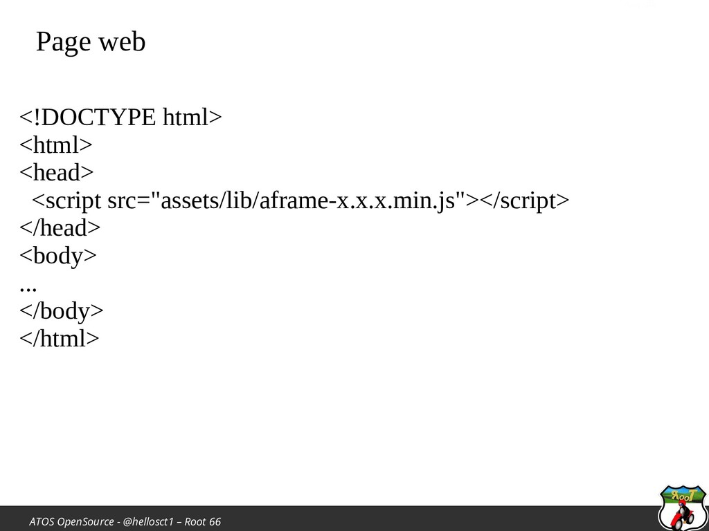 ATOS OpenSource - @hellosct1 – Root 66 Page web...