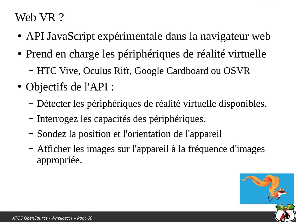 ATOS OpenSource - @hellosct1 – Root 66 Web VR ?...