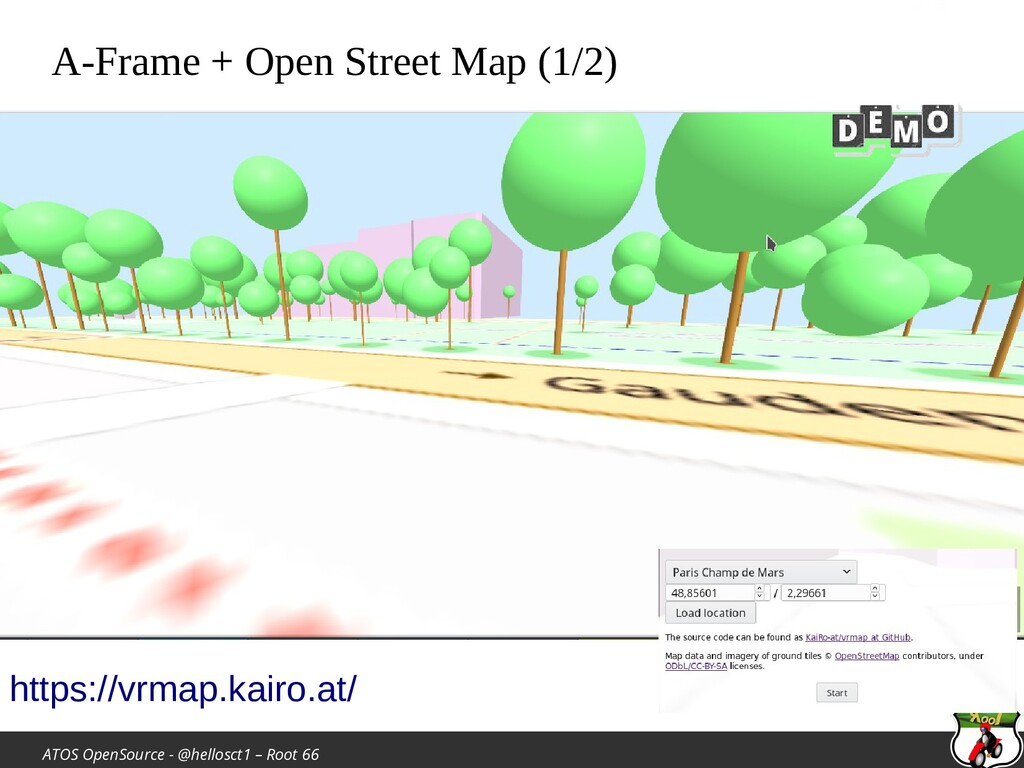 ATOS OpenSource - @hellosct1 – Root 66 A-Frame ...
