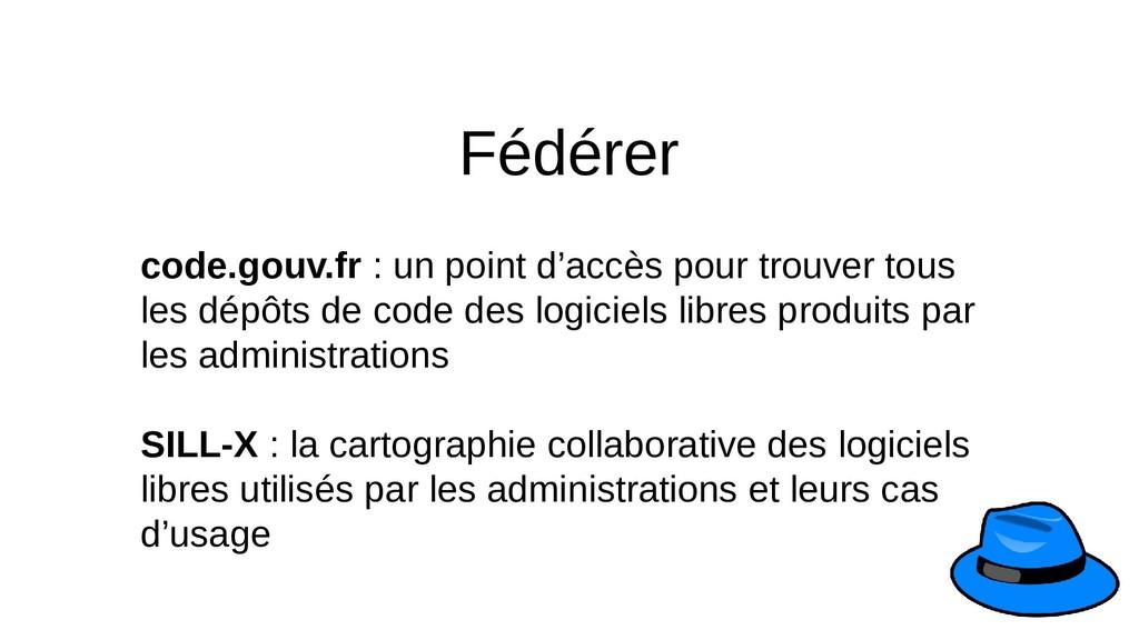 Fédérer code.gouv.fr : un point d'accès pour tr...