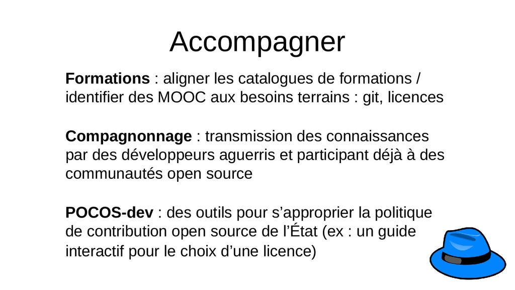 Accompagner Formations : aligner les catalogues...
