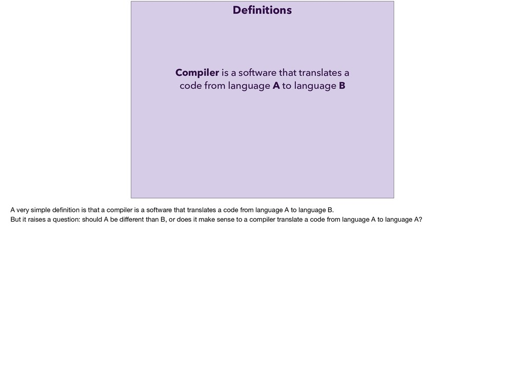 Compiler is a software that translates a code f...