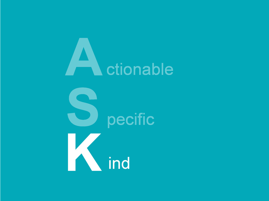 ctionable Specific A ind K