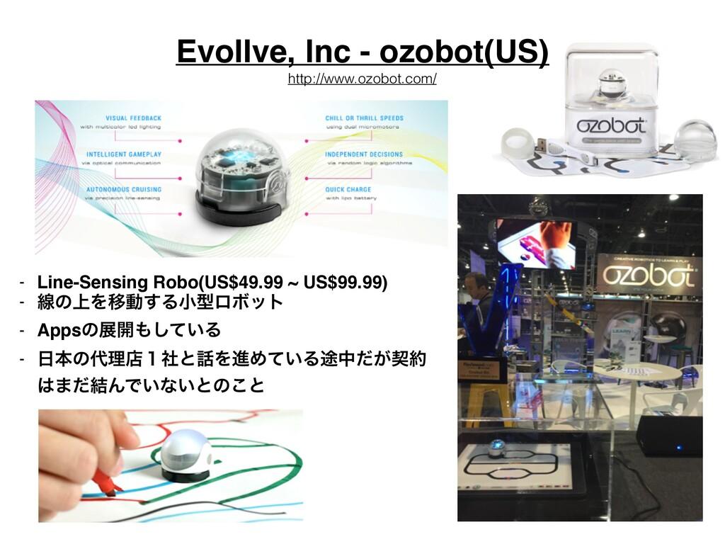 Evollve, Inc - ozobot(US) - Line-Sensing Robo(U...