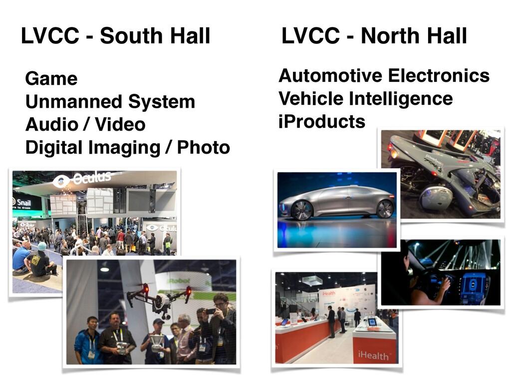 LVCC - South Hall LVCC - North Hall Game! Unman...