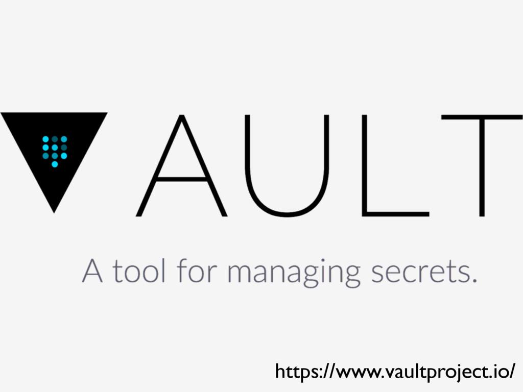 https://www.vaultproject.io/