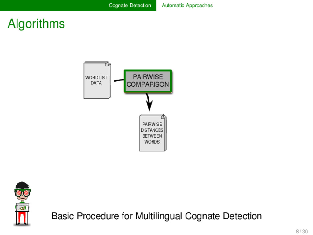 Cognate Detection Automatic Approaches Algorith...