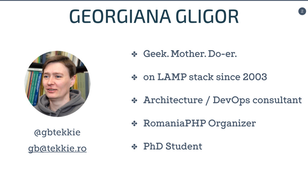 2 ✤ Geek. Mother. Do-er. ✤ on LAMP stack since ...