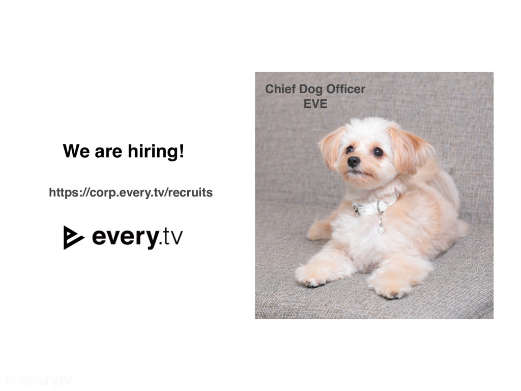 https://corp.every.tv/recruits We are hiring! C...