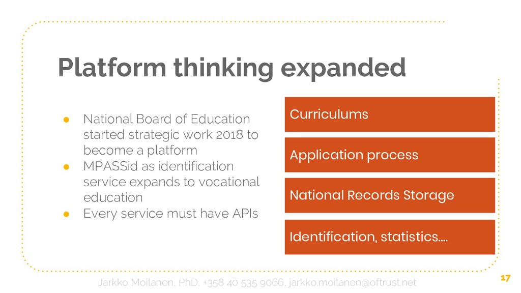 Platform thinking expanded ● National Board of ...