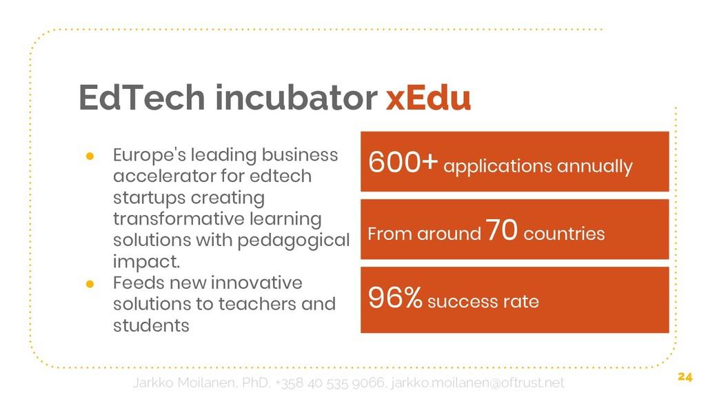 EdTech incubator xEdu ● Europe's leading busine...