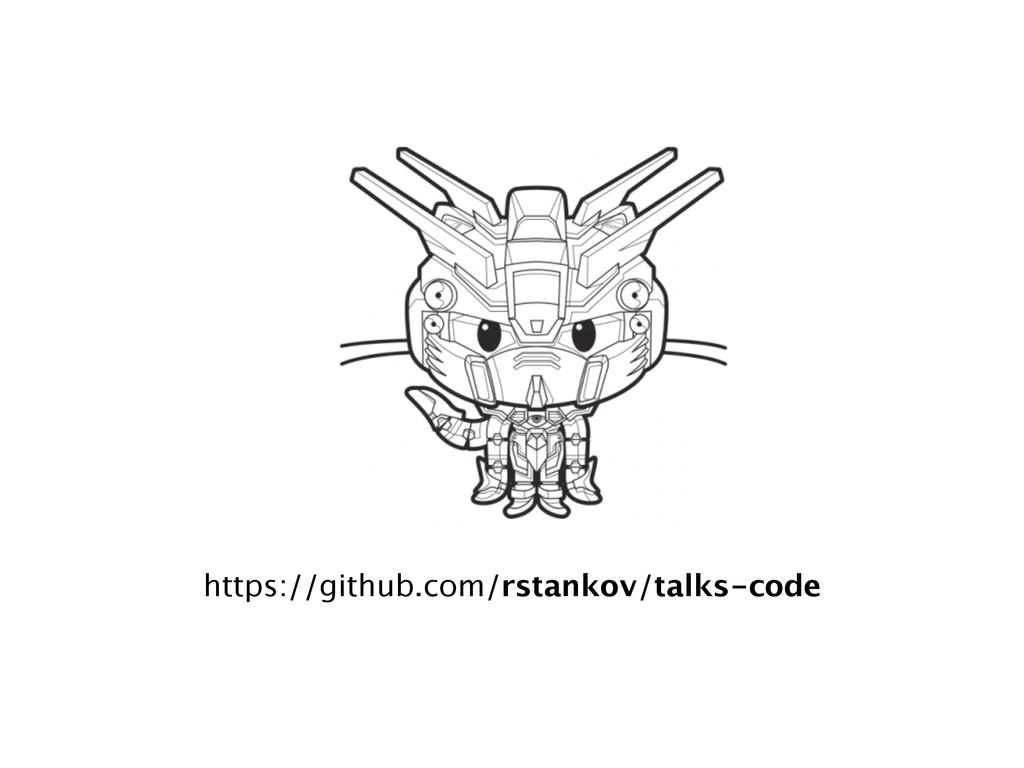 https://github.com/rstankov/talks-code