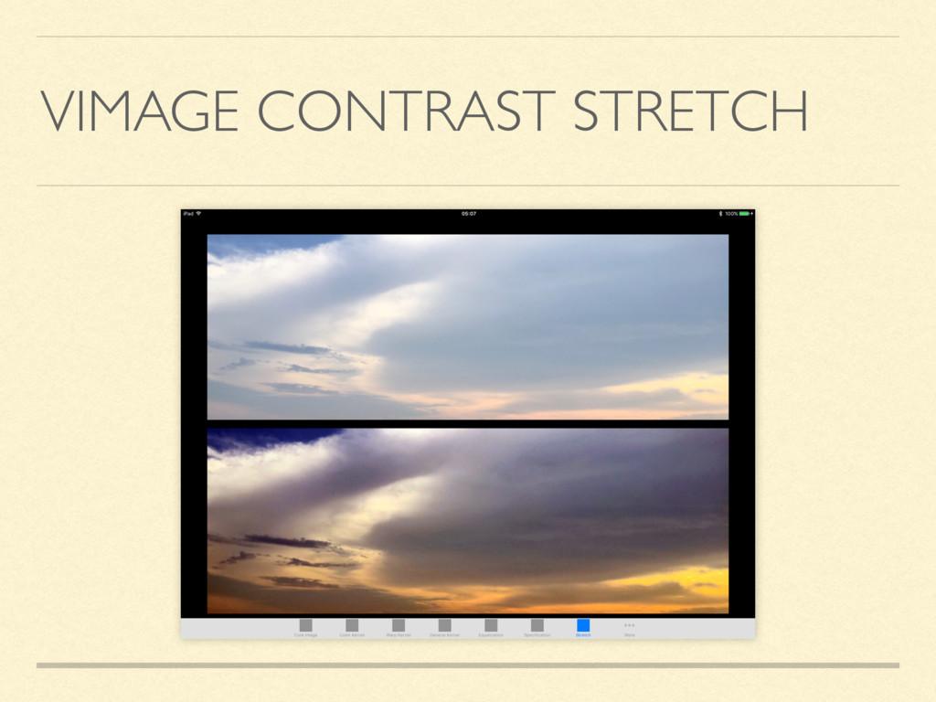 VIMAGE CONTRAST STRETCH