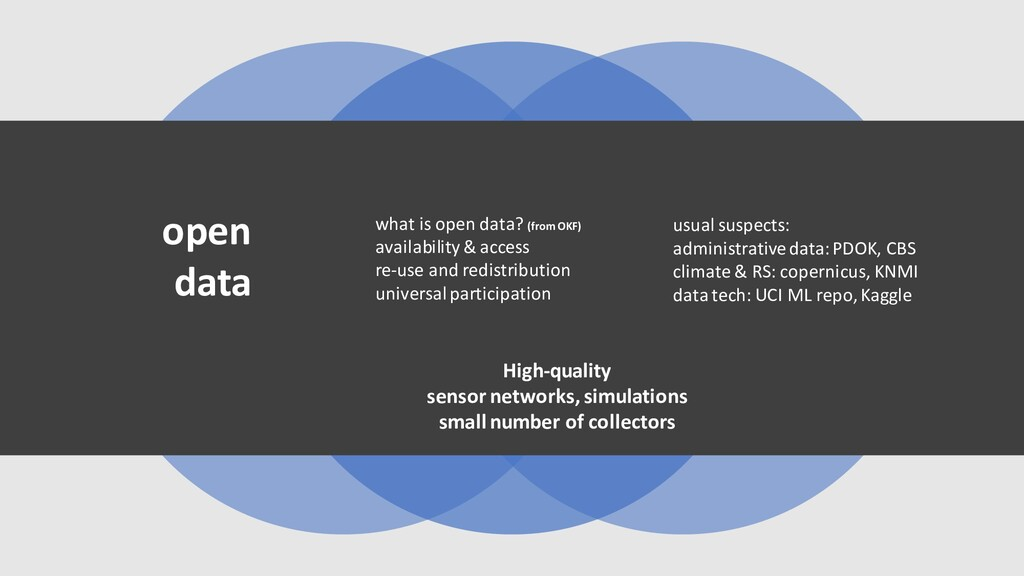 what is open data? (from OKF) availability& acc...