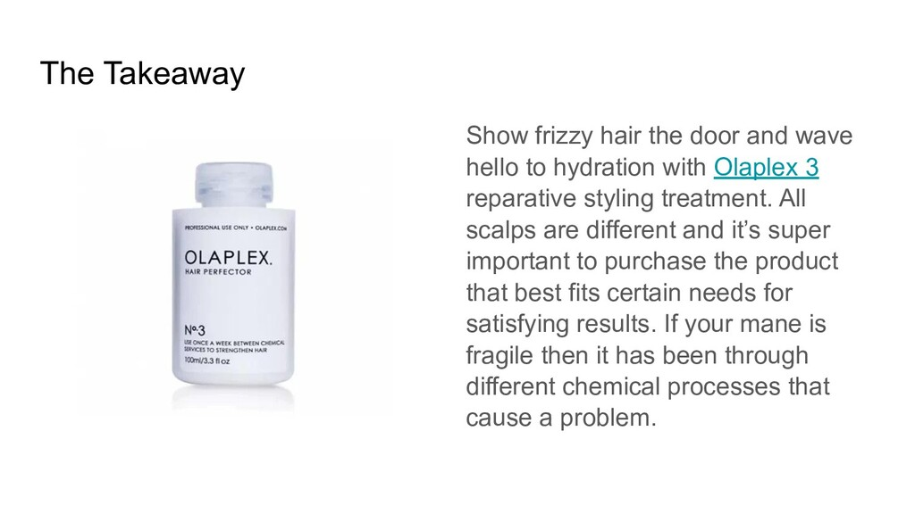 The Takeaway Show frizzy hair the door and wave...