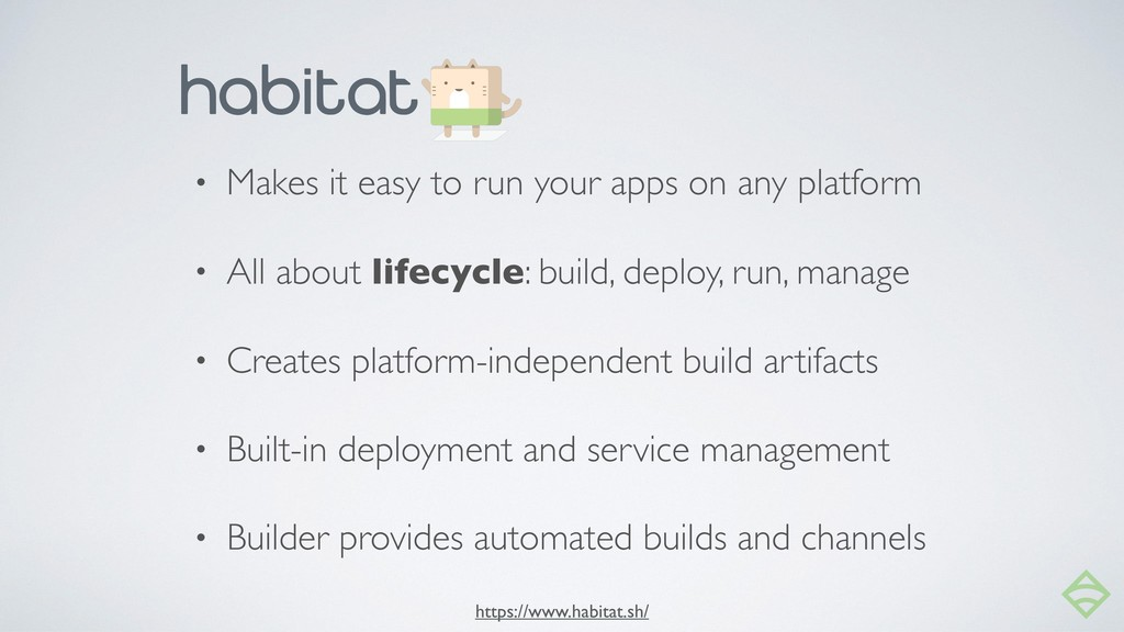 • Makes it easy to run your apps on any platfor...