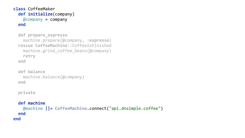 class CoffeeMaker