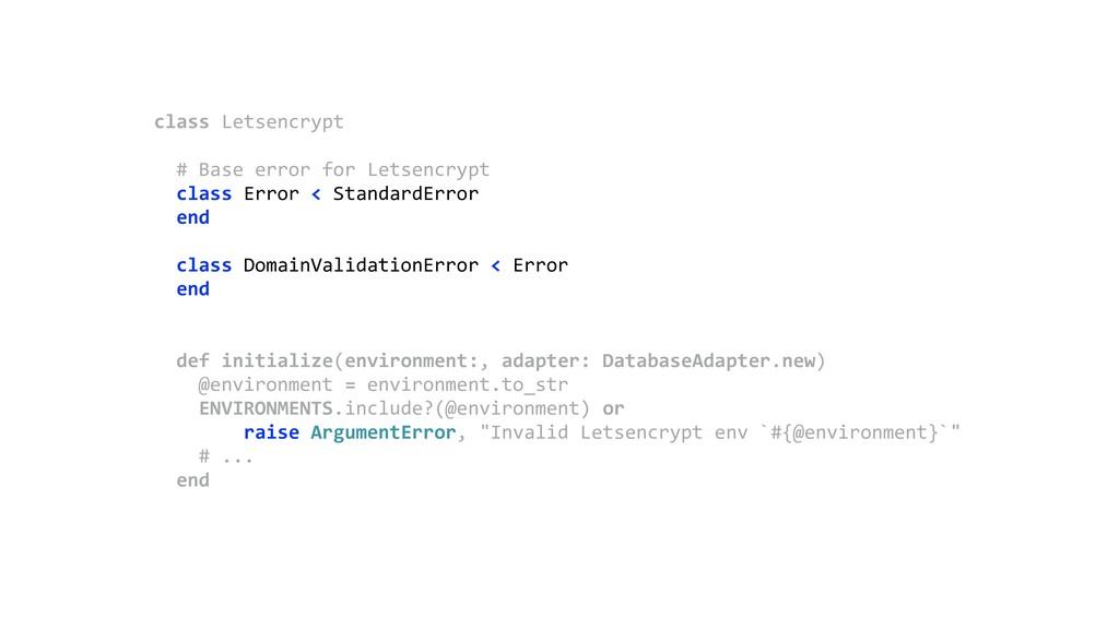 class Letsencrypt  # Base error for Letsencry...