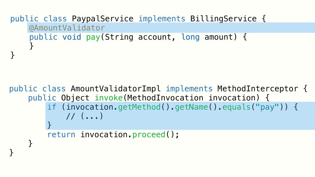 public class PaypalService implements BillingSe...