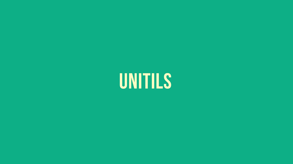 UNITILS
