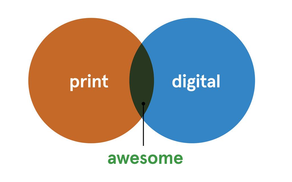 print digital awesome