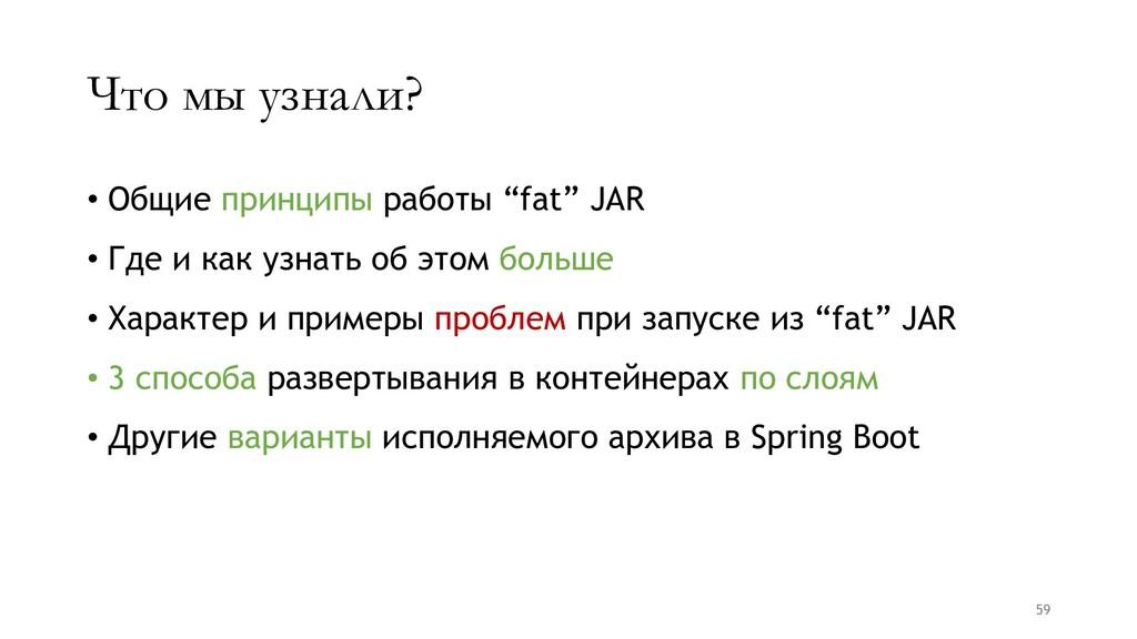 """Что мы узнали? • Общие принципы работы """"fat"""" JA..."""