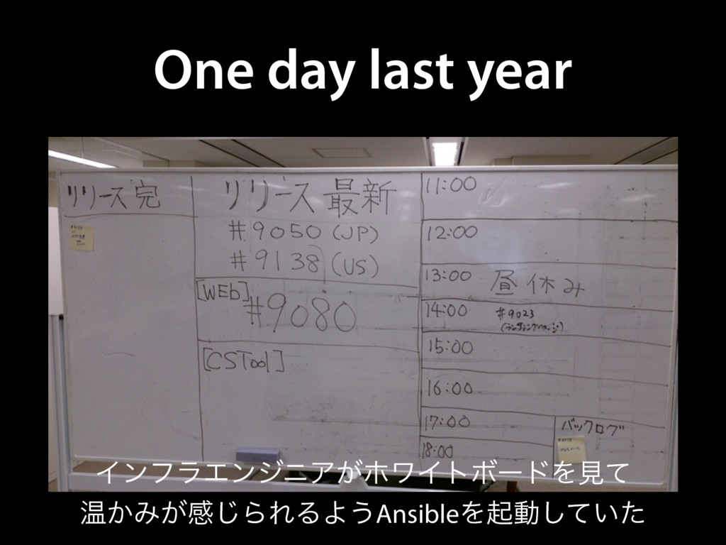 One day last year ΠϯϑϥΤϯδχΞ͕ϗϫΠτϘʔυΛݟͯ Թ͔Έ͕ײ͡ΒΕ...