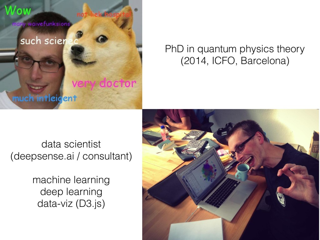 PhD in quantum physics theory (2014, ICFO, Barc...