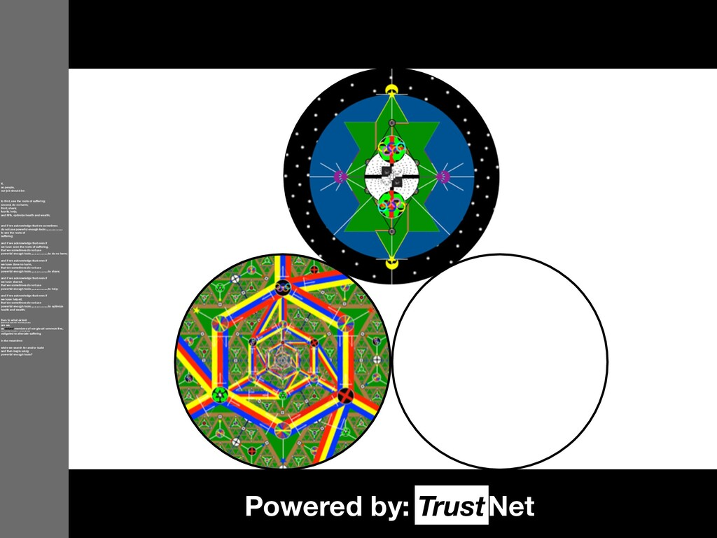 Powered by: Net Trust If, as people, our job sh...