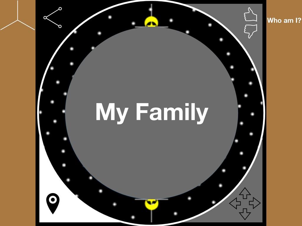 Who am I? My Family