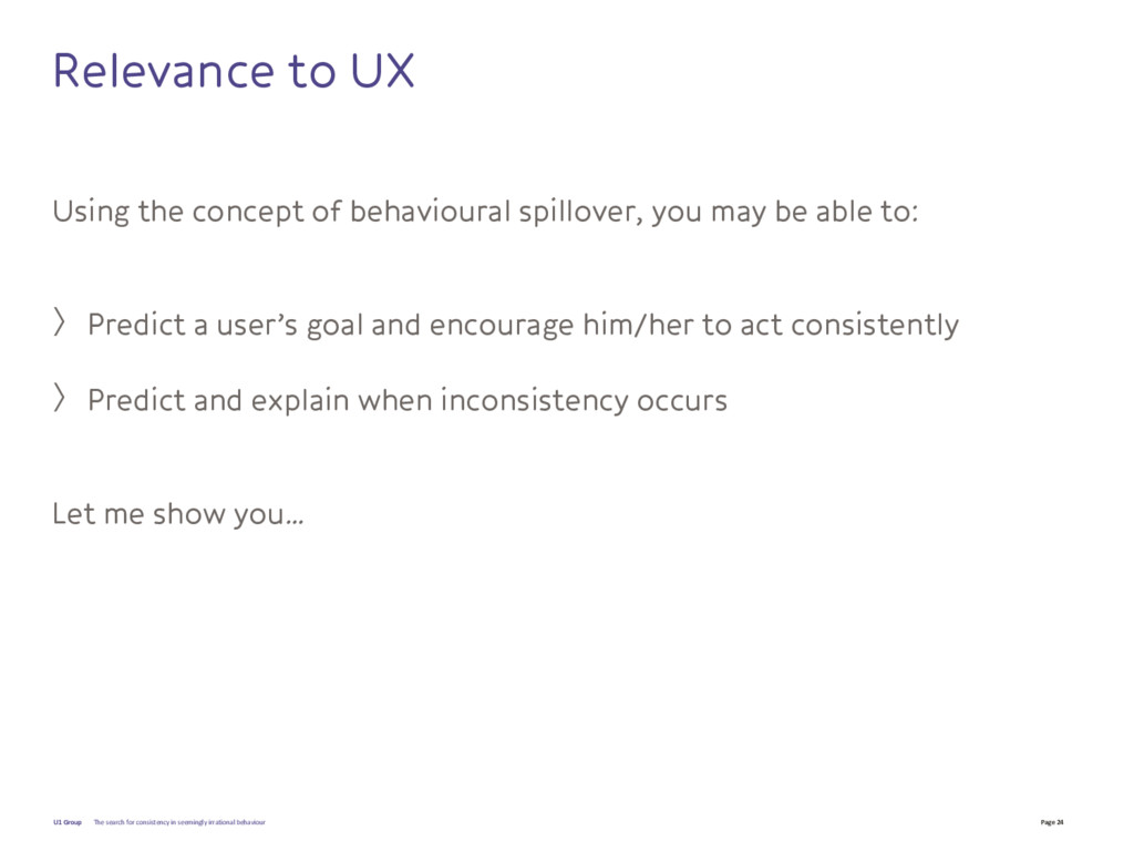 Page 24 U1 Group Relevance to UX Using the conc...