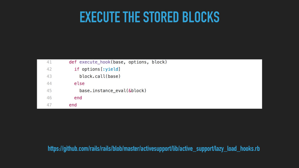 EXECUTE THE STORED BLOCKS https://github.com/ra...