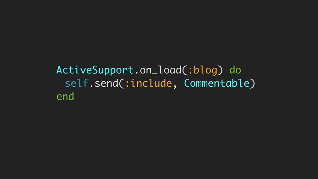ActiveSupport.on_load(:blog) do self.send(:incl...
