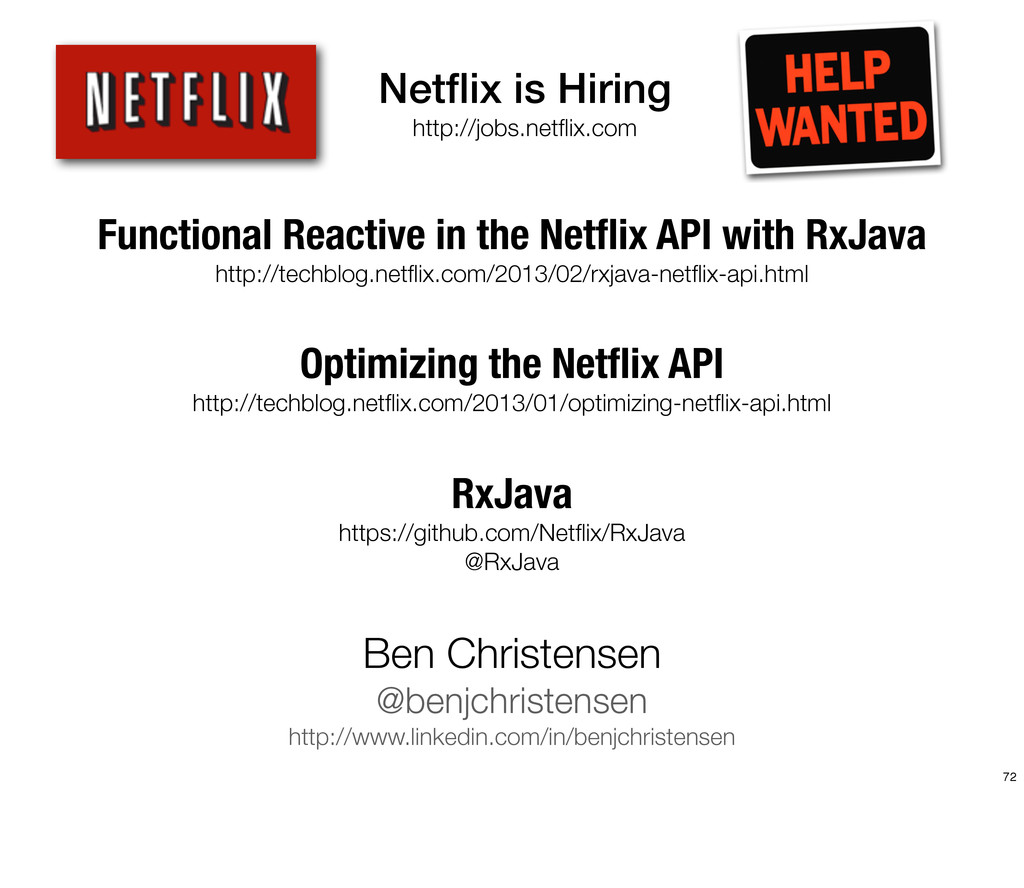 Functional Reactive in the Netflix API with RxJa...