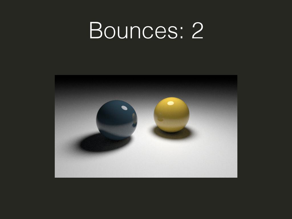 Bounces: 2