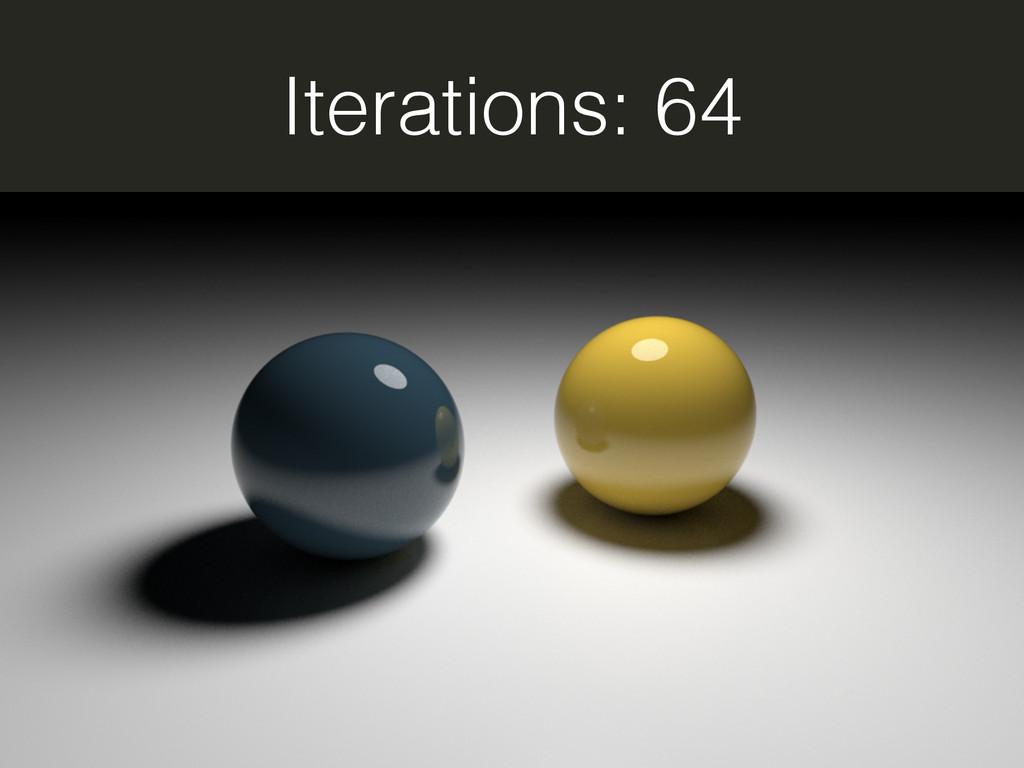 Iterations: 64