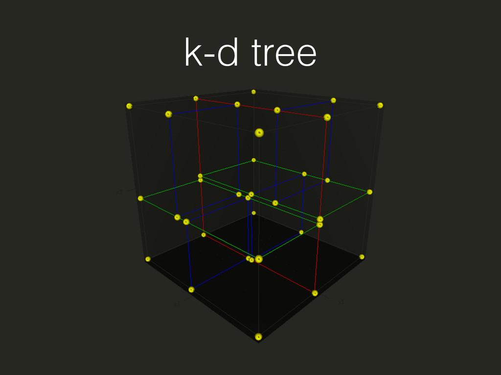k-d tree