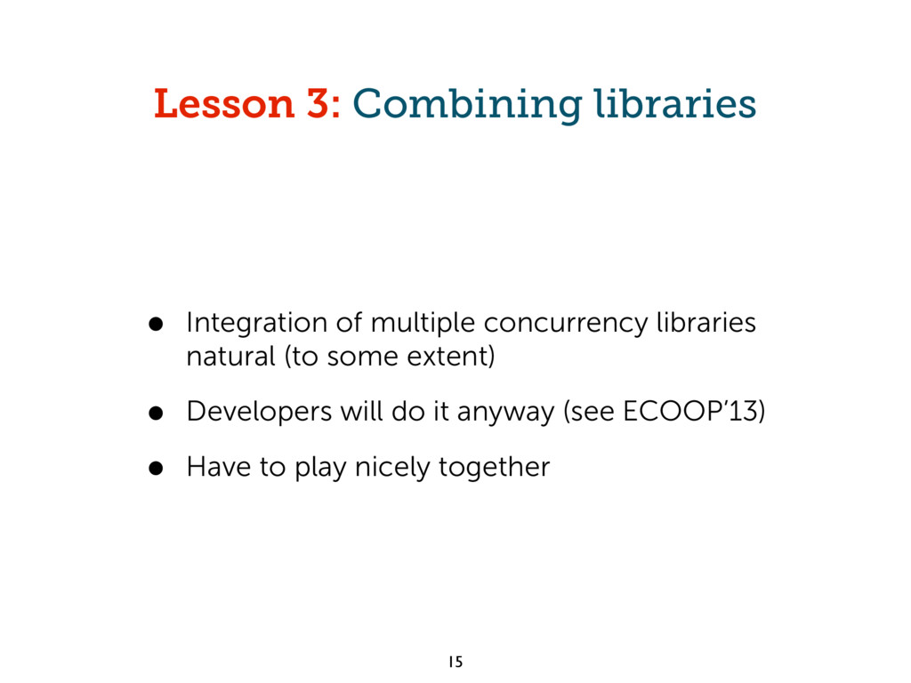 Lesson 3: Combining libraries • Integration of ...
