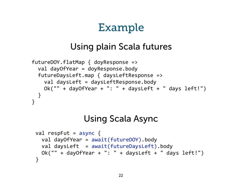 Example futureDOY.flatMap { doyResponse => val ...
