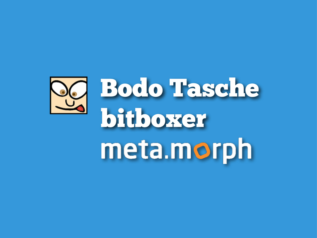 Bodo Tasche bitboxer