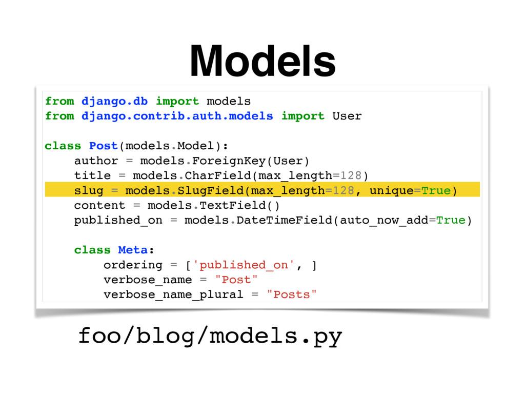 Models from django.db import models from django...