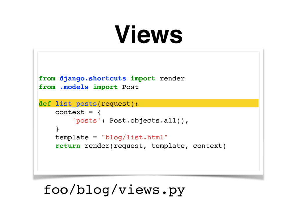 Views from django.shortcuts import render from ...