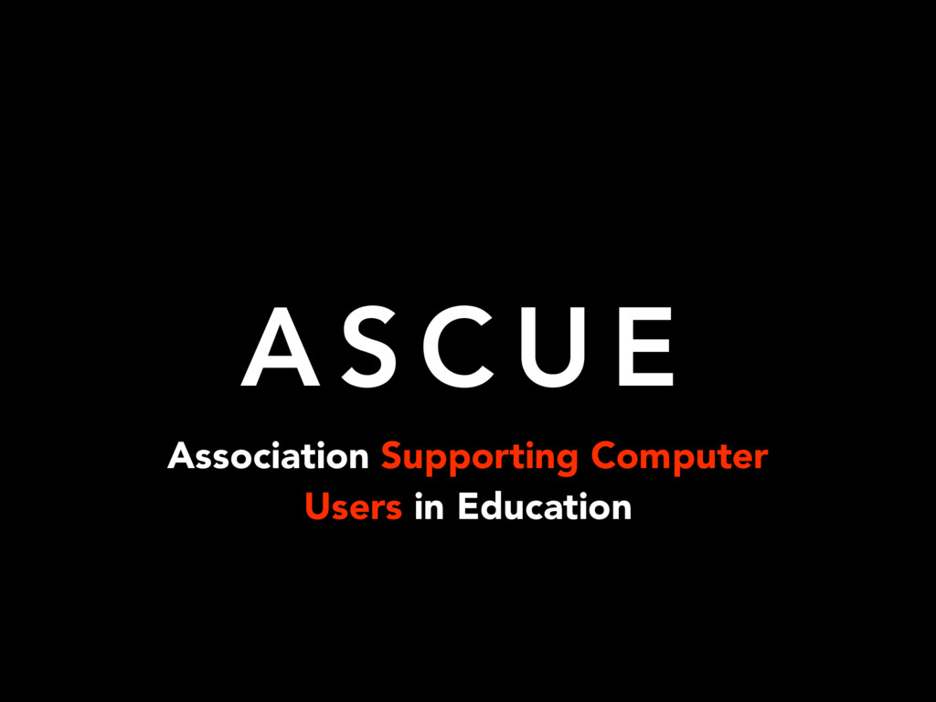 Association Supporting Computer Users in Educat...