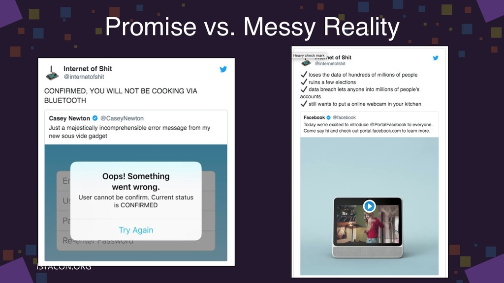 Promise vs. Messy Reality