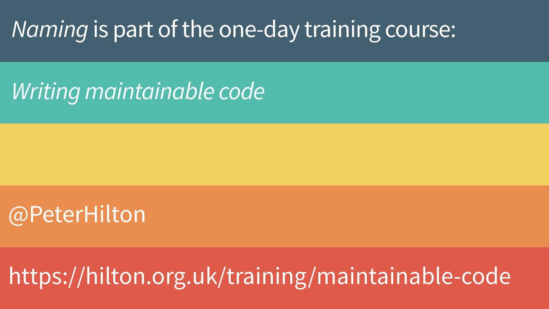 Improve your general vocabulary 37 @PeterHilton...