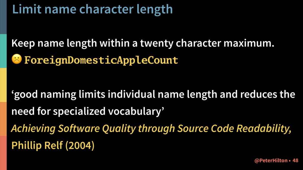 Limit name character length Keep name length wi...